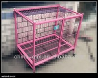 Harmless gavanized aluminum/aluminum alloy dog/bird/animal cages welded wire mesh