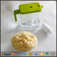 water filter pitcher use cation food grade ion exchange resin beads