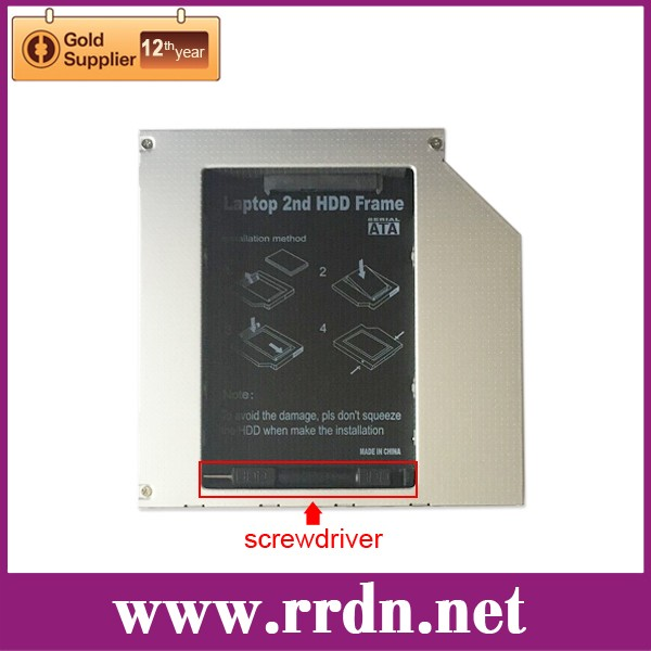 HDD caddy for laptops TITH5AS include srewdriver