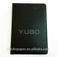YB-1250 FSC leather diary hot A5 electronic address book