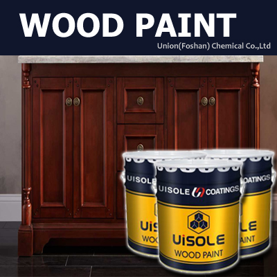 Teak color water based wood putty for furniture paint