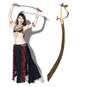 Medieval with dragon handle Belly dancing Performance swords