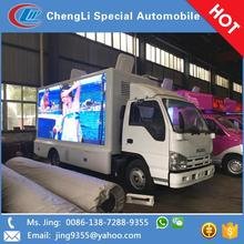 High performance mobile truck p8 outdoor advertising led display screen in New Zealand