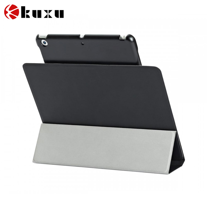 2016 Ultra Flip stand three-fold Smart cover for apple ipad air 2 Slim leather case for ipad 6 magnet cover + screen guard