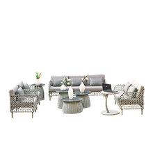 1860s Royal Sofa Sets High Quality New Design rattan wicker outdoor garden patio furniture