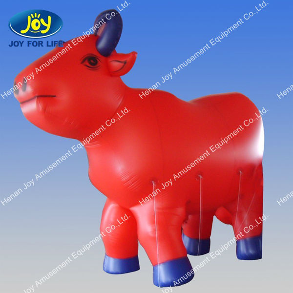 fun advertising catoon inflatable OX bull shape model for sale anne,giant inflatable shapes