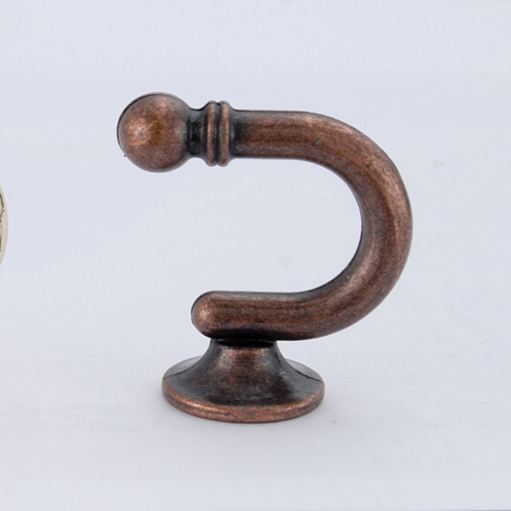 Szone antique brass metal wall curtain accessories hook