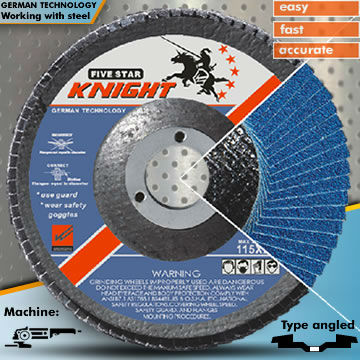 High Price-To-Performance Ratio Is Used For Stainless Steel 4.5'' Flap Wheel