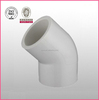 Manufacturer PVC flexible rubber Pipe Fittings Factory Made Of High Quality pvc-U 45DEG imc elbow