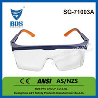 2015 Wholesale free sample polycarbonate lens safety glasses meet ce en166 and ansi z87.1 safety glasses
