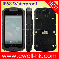 China Shenzhen Snopow M8C Dustproof Waterproof Shockproof Cell Best Dual Core 3 Cores Rugged Phone Cellphone Mobile Phone