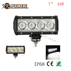 "spot flood combo beam 40W 7 inch 7"" led light bar 12 volt 24 volt for off road atv suv"