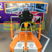 Driving Car Racing Simulator Game Machine For Amusement