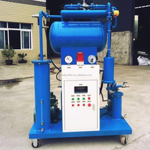 Vacuum transformer oil reclaimer plant