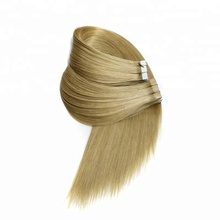 Tape on hair extension double drawn virgin hair for wholesale with hair package