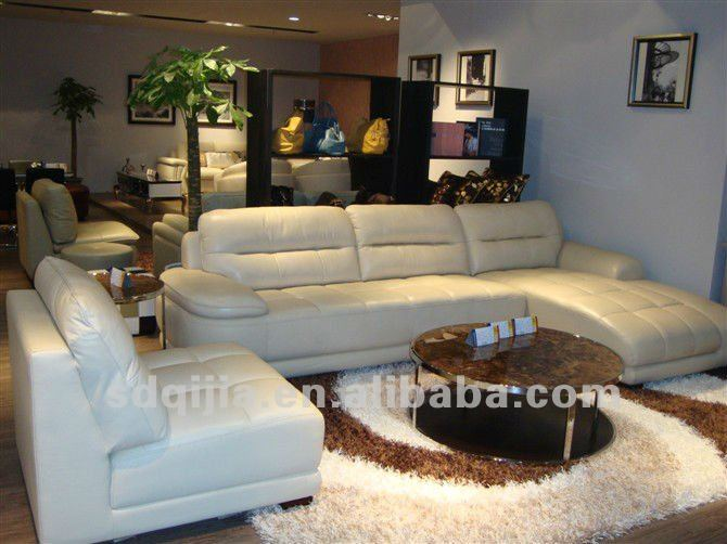 Best Claasic Moden Contemporary Genuine Leather Sleeper Couch Sofa