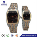 Classic design gold silver wrist watches for couples