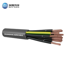 Black core digital number 14 core 1.5mm2 ventilation cable
