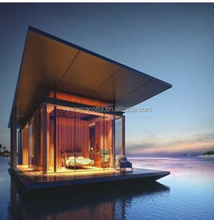NEW cheap luxury beach modern prefab house villa
