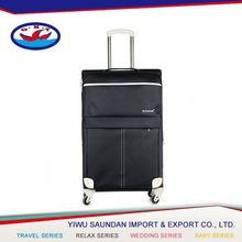 Best selling OEM Design colorful printed 4 wheels luggage for promotion