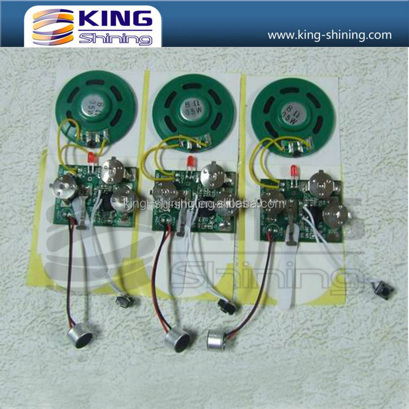recordable sound module otp music ic chip New design