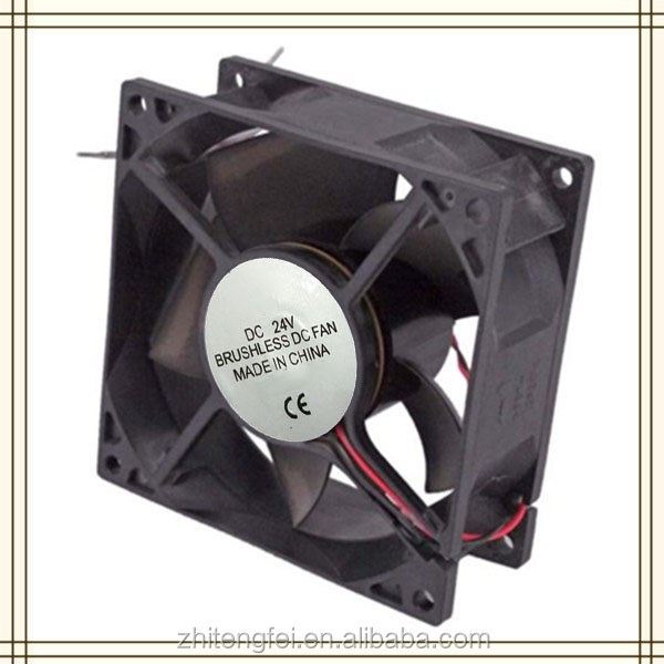 China Manufacture DC 9238 Brushless Cooling Fan 92*92*38mm Bearing Type PC Fan For Inverter