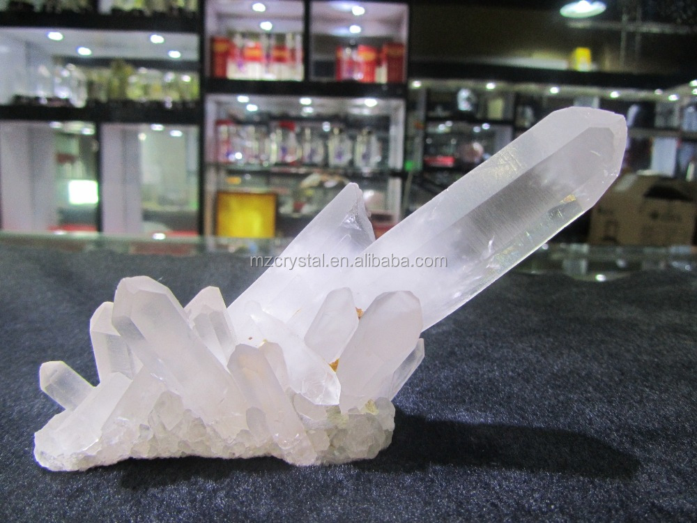 HOT Sale Top Quality Natural White Clear Rock Quartz Crystal Clusters Crystal Healing Clusters for Decoration