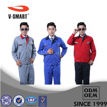 SAD-G1311 100 Cotton Work Clothing/uniform for Workers/Cleaning Staff Uniform+ custom logo