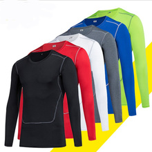 Best Quality Long Sleeve Elastic Cool Dry Fitness Running Training Mens Gym Clothing