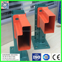 Factory export 3 inch * 3 inch teardrop pallet rack and step beams in containers