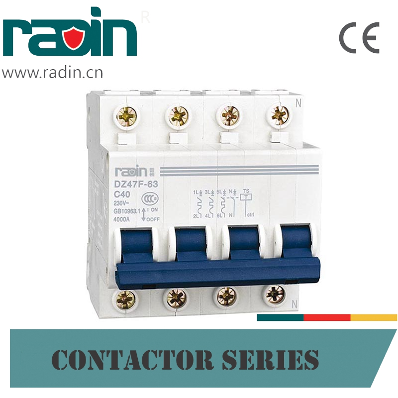 230V/400V Modern Vacuum Residual Current Circuit Breaker Types, 4 Pole Contactor