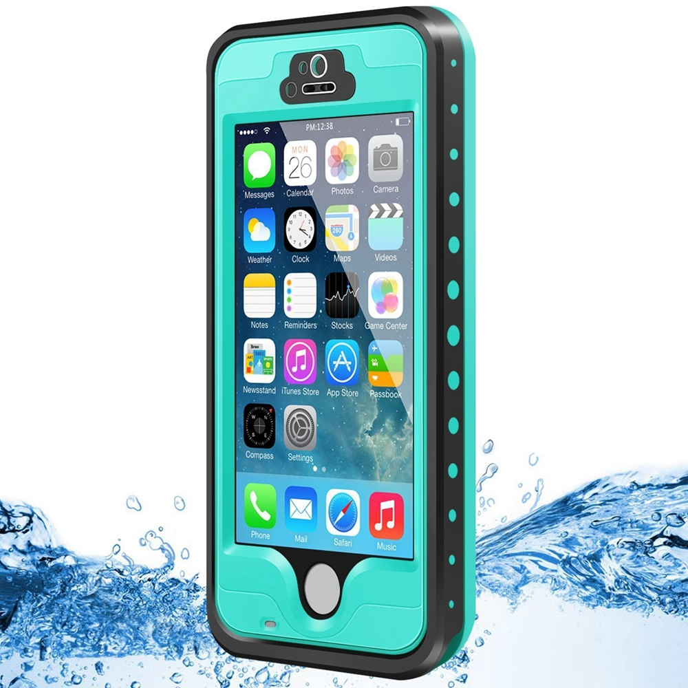 Dust Snow Shock Proof Case with Touched Transparent Screen Protector Waterproof Phone Case