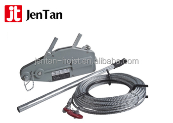 Aluminum housing light and poweful wire rope winch