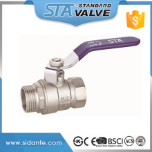 "ART.1006 China Manufacturer Wholesale Lever Handle CW617N PN 25 Water Oil Gas Forged 1/2"" 3/4"" 1"" Inch 600 Wog Brass Ball Valve"