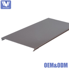China gold manufacturer fireproof aluminum strip ceiling panel for sale