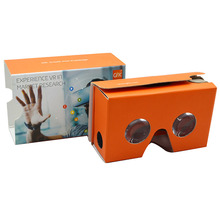 Google cardboard 3d virtual reality vr headset vr google glasses 3d virtual reality glasses vr 3d box