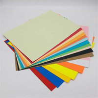 180gsm Color Bristol Board Paper Manila Paper Colourful Leather grain embossed paper