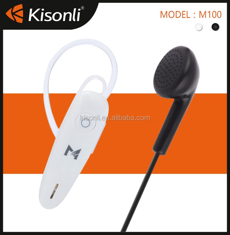 Good Quality Ear Hook Bluetooth Headsets For iPhone, Samsung etc.