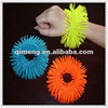 Custom Colorful Plastic Sticky Puffer Ball