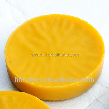 High quality chinese producer yellow beeswax slabs for pharmacy