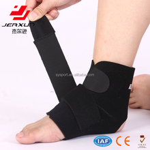Adjustable ankle support compression breathe ankle brace