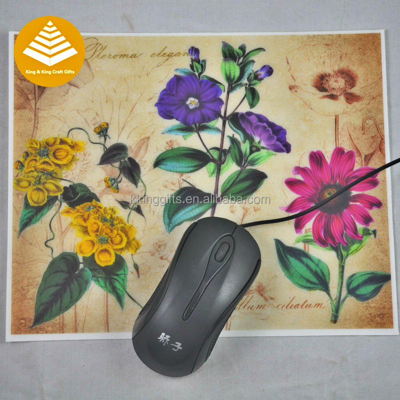 Wholesale Custom eco-friendly mousepad 8x21cm PP thin gaming mouse pad / nice looking thin plastic mat