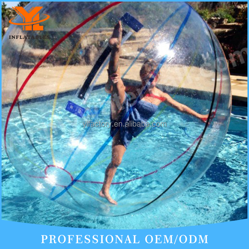 Guangzhou YL CE Approved Inflatable Walking Water Ball for Sale