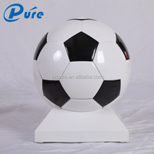 8L portable football shape mini fridge for travel with 3C,CE,EMC,ROHS certificated
