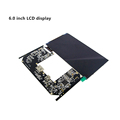 [HOT]Topfoison 6 inch 2k lcd display ips panel mipi dsi interface for vr glasses and hmd DIY