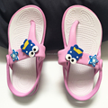 children soft flip flop slipper and sandal cartoon design anti slip kid's EVA flip flop slipper