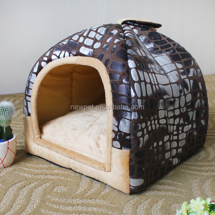 China-made hot selling s,m,l size dog bed cover cat cage bed