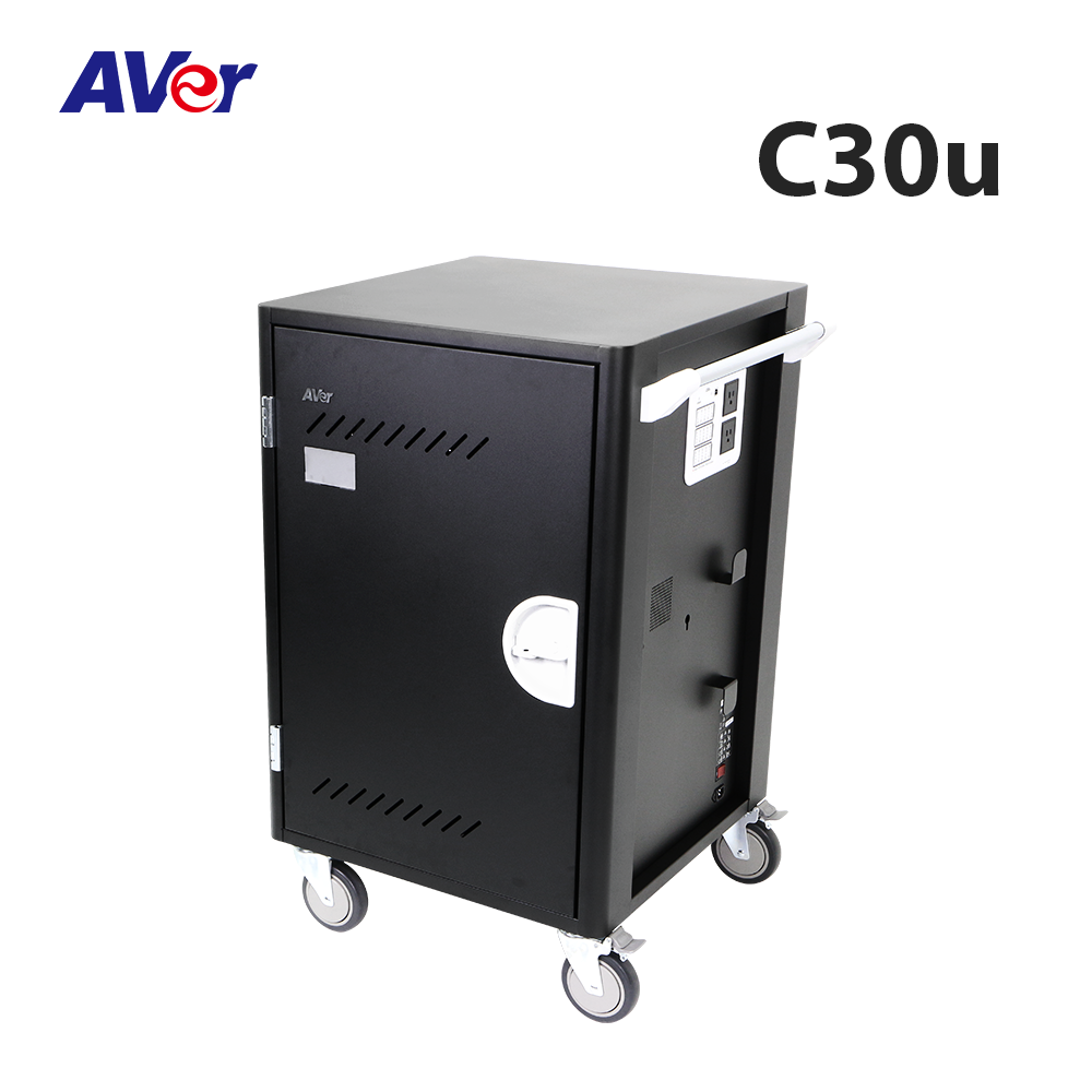 Charge & Sync Trolley,AVer C30u Charge & Sync Cart,AVer C30u 30 Device USB Charge and Sync Trolley,iPad mini,USB charge,NB,sync