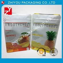 Flat Bottom Plastic Package Bag for Dried Fruit