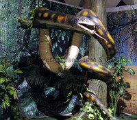 Real size simulation animal animatronic snake